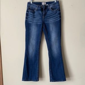 BKE Boot Cut Mid Rise Jeans
